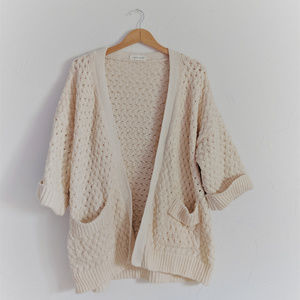 Goodnight Macaroon | Oversize Chunky Knit Cardigan